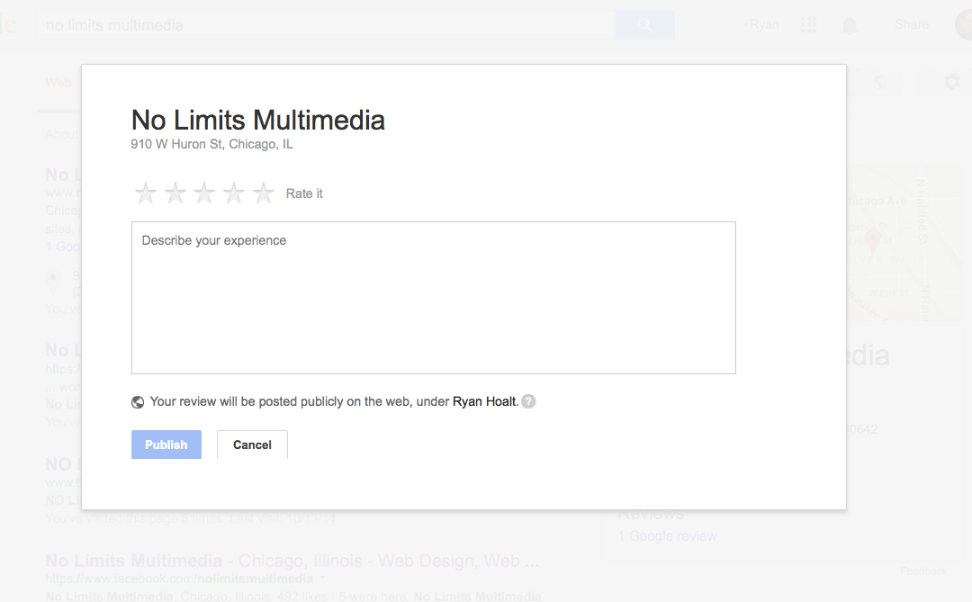 Get a Direct Link to Your Google+ Review Page