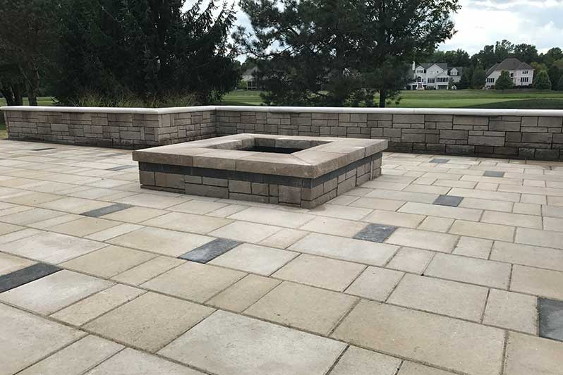Custom Outdoor Fireplace Fire Pit Designs In Fishers In