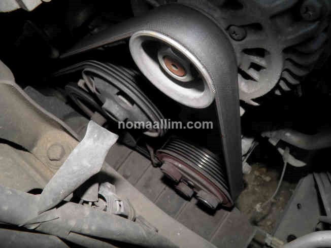 How to replace the serpentine belt (drive belt) of a Mazda 2 Mazda