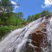 Canyoning in Dalat.