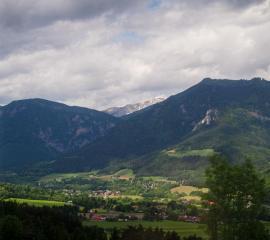 Slovenia to Austria. Trains in Europe