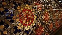 Islamic Patterns in Glass-work