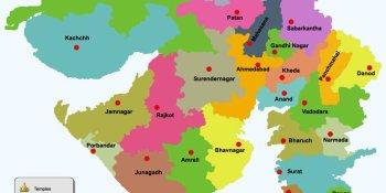 Places to visit in Gujarat - Gujarat Map