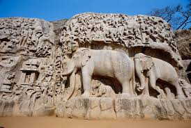 Tourist Places to visit in Mahabalipuram -Descent of Ganges