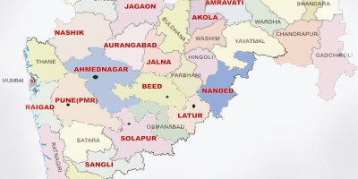 Tourist Places to visit in Maharashtra - Maharashtra Map