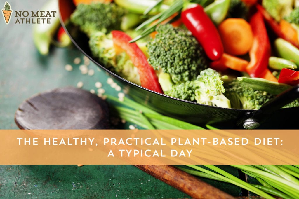 The Healthy, Practical Plant-Based Diet A Typical Day No Meat Athlete