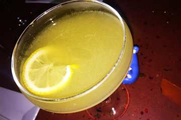 Buddha's Backhand Cocktail @ Dino's Grotto on U Street in Washington DC