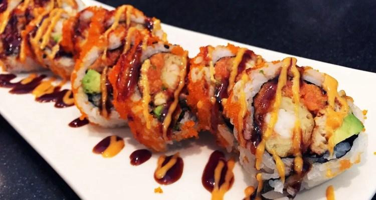 Tiger Sushi Roll @ Nikko Sushi & Hibachi