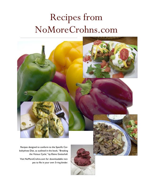 Cookbook Covers - No More Crohn\u0027s For Me!