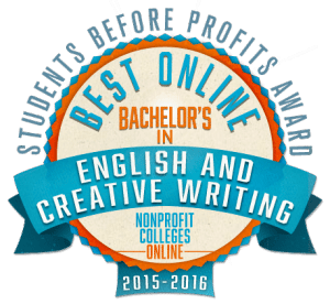 online bachelors degree english creative writing