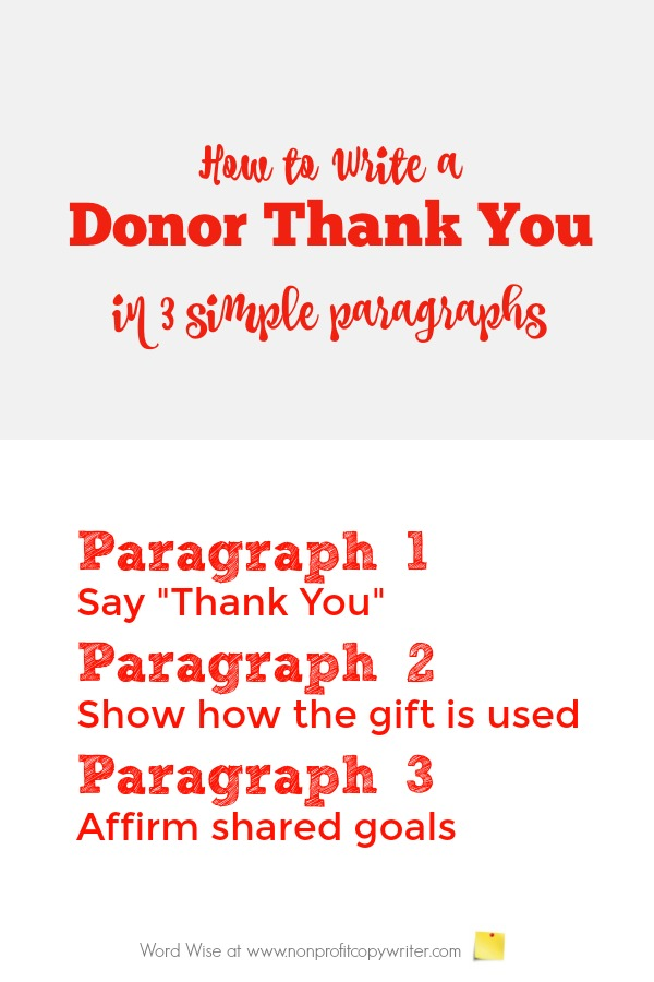 Donor Thank You the Easiest and Simplest Way to Friendraise