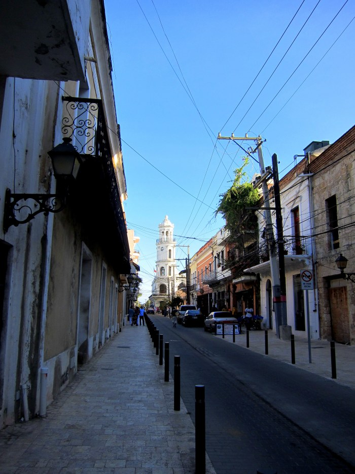 colonial zone in santo domingo