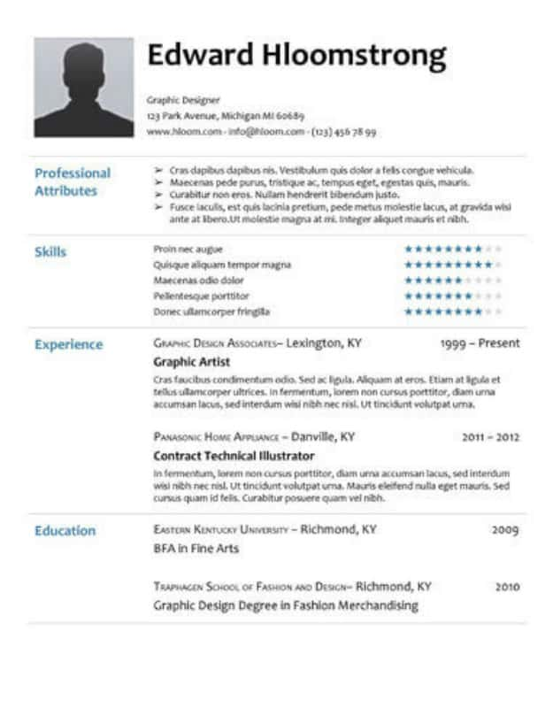 29 Google Docs Resume Template To Ace Your Next Interview - docs resume template