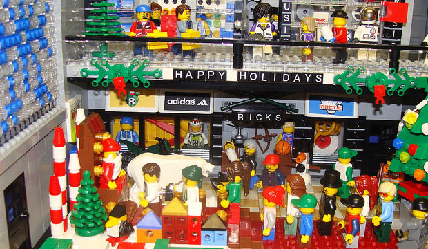 holiday shopping lego