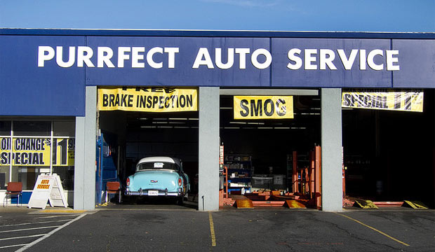 auto service business