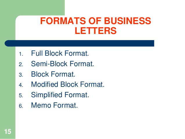 How to Write a Business Letter Properly - business letters format