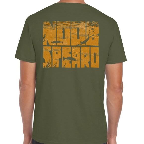 Military Green Noob Spearo T-Shirt