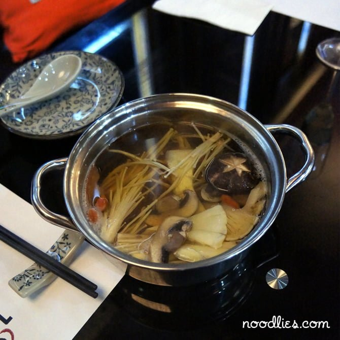 ipot smokey mushroom hot pot soup base chinatown