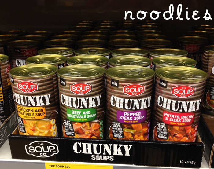 Is Aldi Cheaper and is the quality good chunky soup brand look a like 2