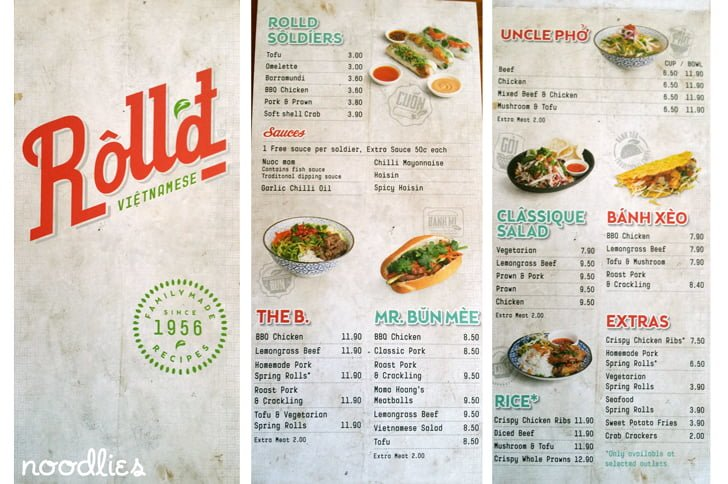 rolld menu randwick