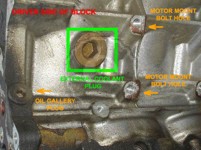 Is there an easy way to drain the block of coolant? - LS1TECH