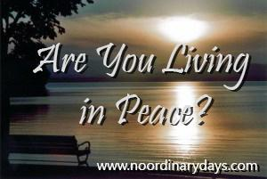 Are You Living in Peace[1]