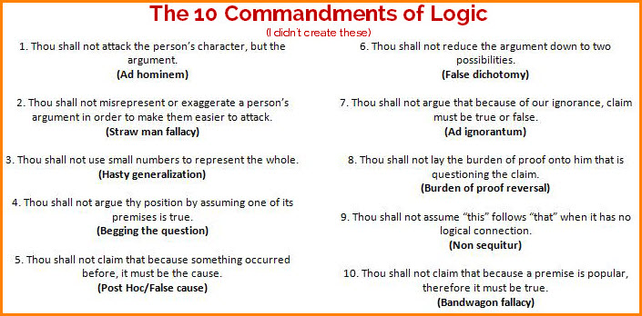 The-10-commandments-of-logicjpg (705×348) Educational or - Sales Assistant Job Description