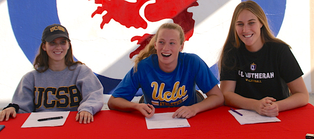 10 South Coast Area Preps Sign National Letters of Intent Sports