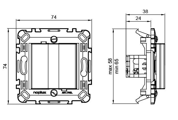 wiring double rj45 socket