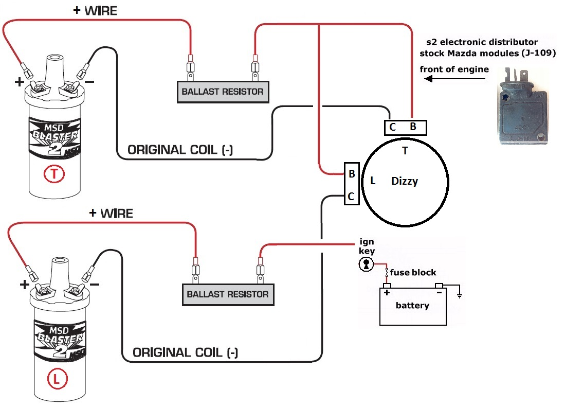 Club Car Ignition Coil Wiring Diagram Just Data Mitsubishi Msd Blaster Auto Electrical