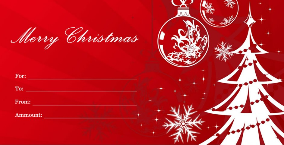 christmas gift certificate - Onwebioinnovate