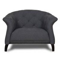 Scandinavian furniture | Crispin Armchair Dark Grey
