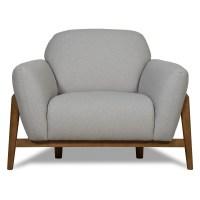 Scandinavian furniture | Milo Armchair Light Grey