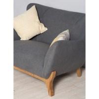 Scandinavian Style furniture | Wesley Armchair Dark Grey