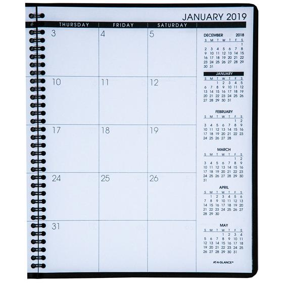 At-A-Glance 70-260-20, 2019 15-Month Monthly Planner, 8-7/8 x 11