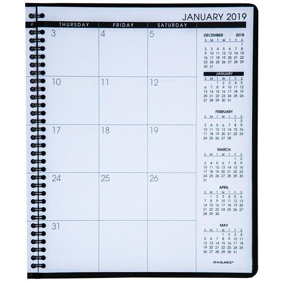 At-A-Glance 70-260, 2019 Monthly Planner, 8-7/8 x 11\