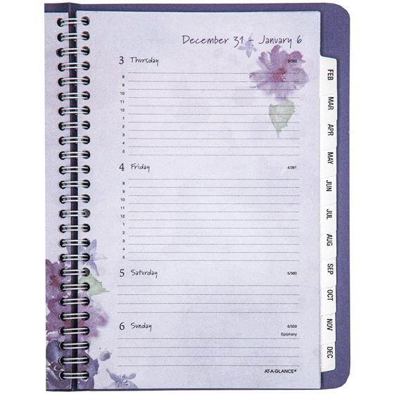 At-A-Glance 938P-200, 2019 Beautiful Day Weekly Monthly Planner, 5-1