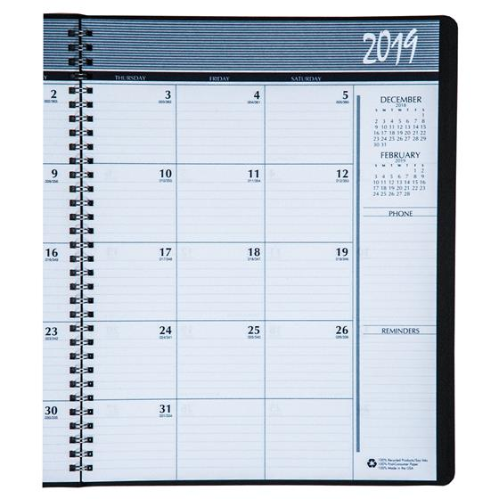 HOD26202 House of Doolittle 2019 Monthly Appointment Planner