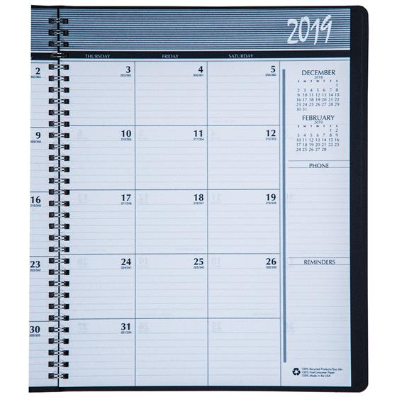 HOD26207 House of Doolittle 2019 Monthly Appointment Planner