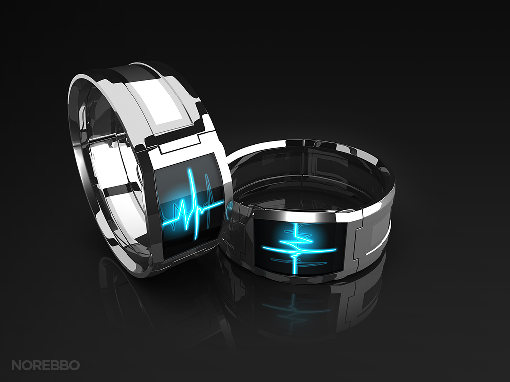 3d Curved Wallpaper Stock Illustrations Of Generic Smart Watches Norebbo