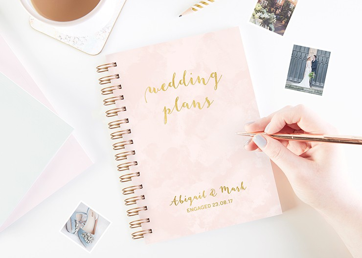 Wedding Planners Personalised Wedding Planner Books normadorothy