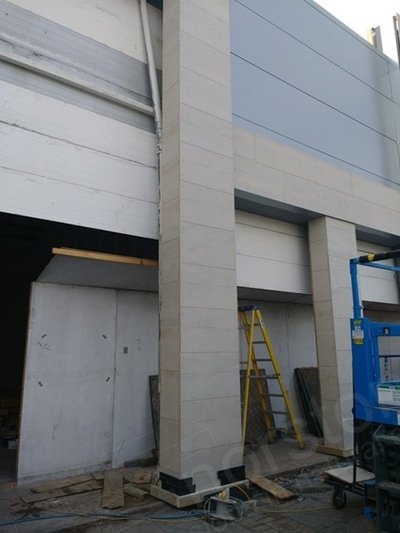 External cement board exterior weatherproof boarding