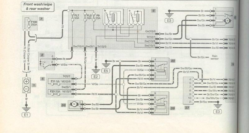 wiring diagram 2005 mini cooper convertible