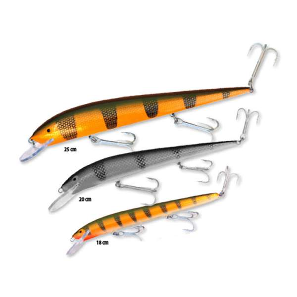 Nils Masters - Invincible lure sizes