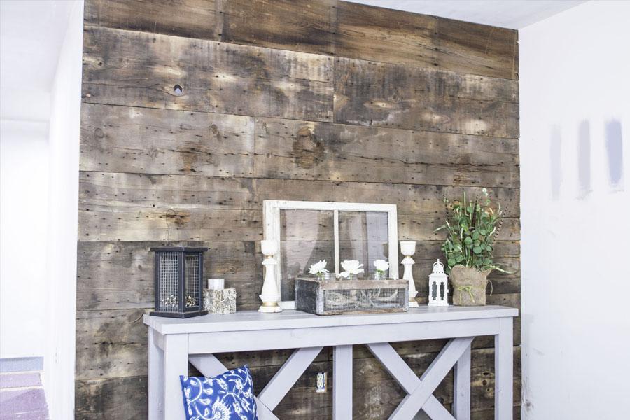One Room Challenge: The Barn Wood Wall