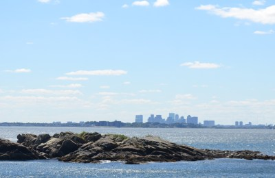 Boston Skyline from Nahant