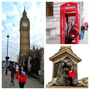Joey Ostreicher while studying abroad at Queen Mary University of London.