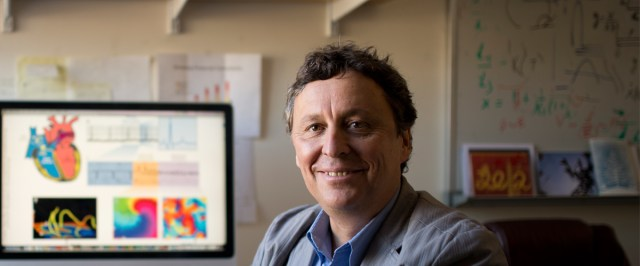 Alain Karma, Arts and Sciences Distinguished Professor of Physics, researches theoretical condensed matter and biological physics.