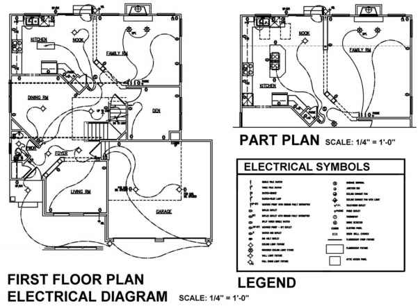 electrical plan sample pictures
