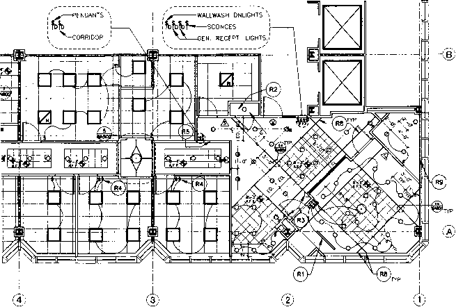 blueprint reading for electrical plan of a building